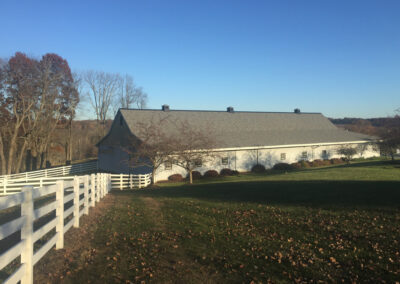 Ward Horse Barn and Dressage Arena